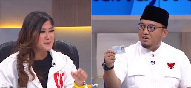 Debat Di Mata Najwa, Jubir 02 Dahnil Anzar Bikin Terkapar Kubu 01