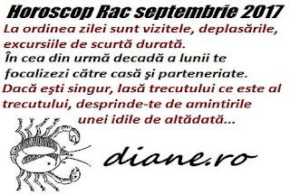Horoscop septembrie 2017 Rac