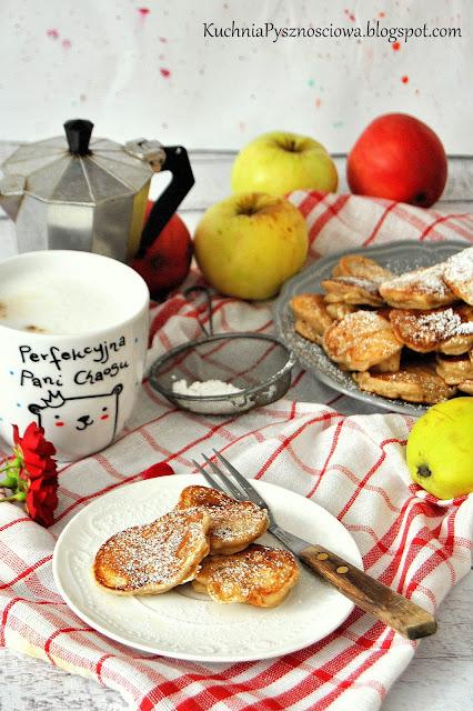 454. Placuszki z jabłkami i kefirem