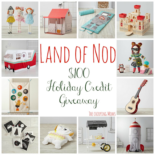 Land of Nod Giveaway || The Chirping Moms