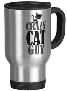 Crazy Cat Guy Travel Mug - A purrfect gift for the cat man in your life.