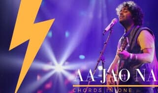 AA JAO NA guitar chords complete and accurate | veere di wedding