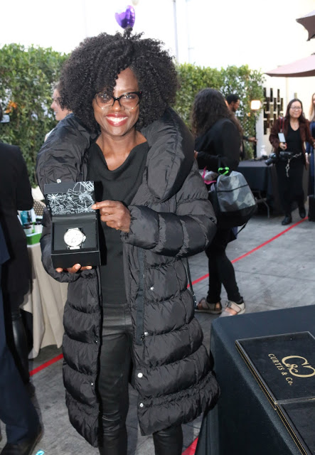 Getting RED-CARPET-READY at the Hollywood Gifting Suites for Oscar 2018