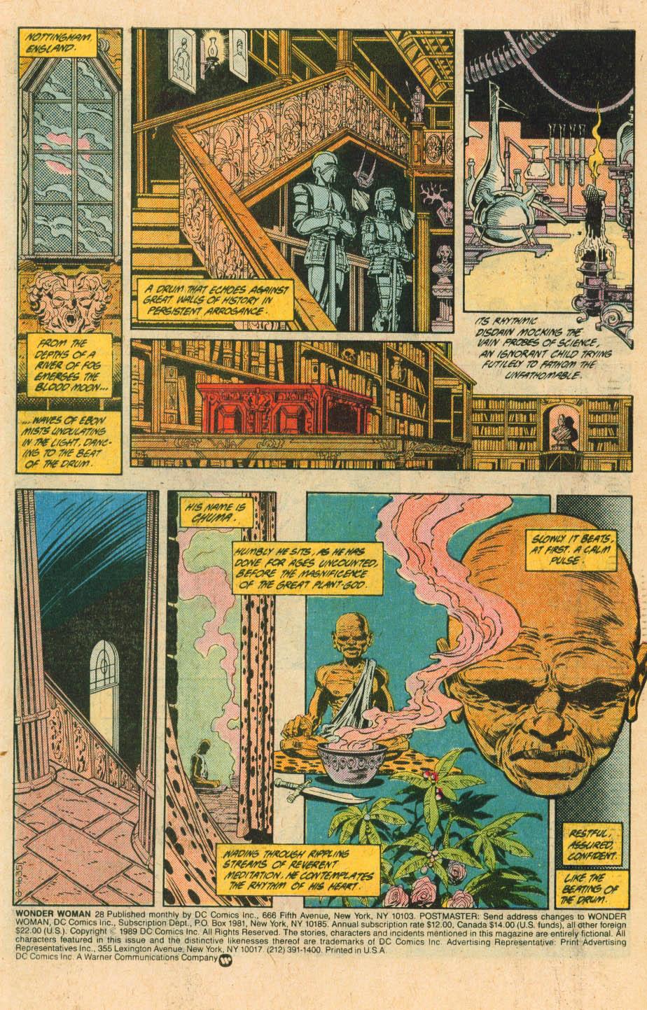 Read online Wonder Woman (1987) comic -  Issue #28 - 3