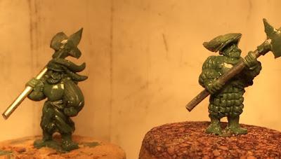 Landsknecht Hellebardiere Sculpts by Warmonger Miniatures picture 2