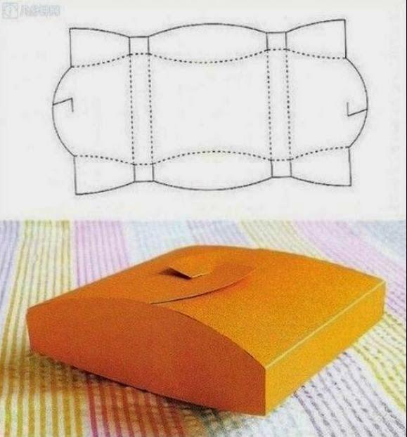 8 Modelos de caixinhas com moldes