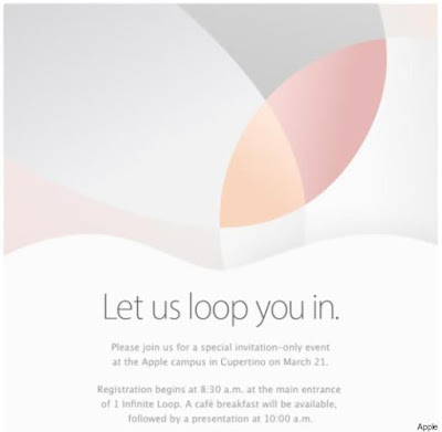 apple keynote invitation