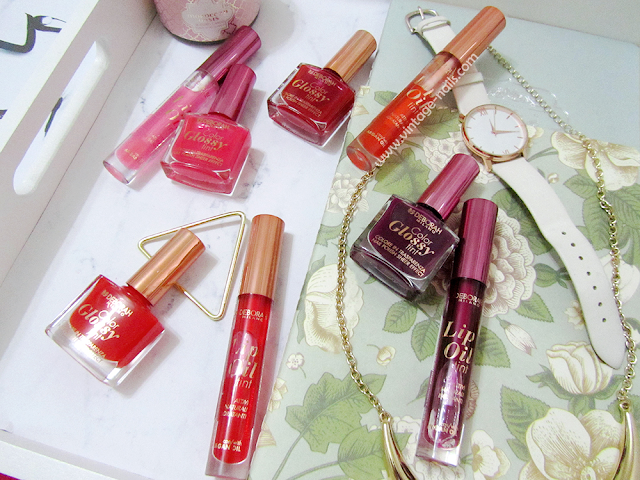 Deborah Milano, lip oil, esmaltes, glossy glam