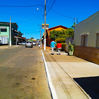 Avenida Principal, Abadiânia, Goiás, Sol, Casa de Dom Inácio de Loyola,