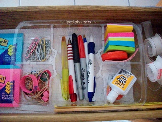 tray in drawer