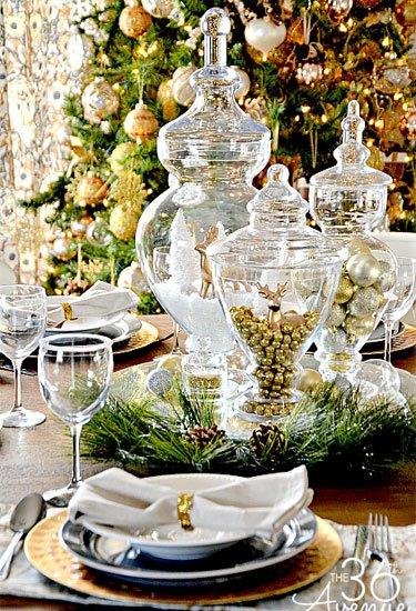 Ιδέες για το Χριστουγεννιάτικο Τραπέζι