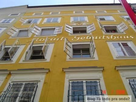 casa que o Mozart nasceu