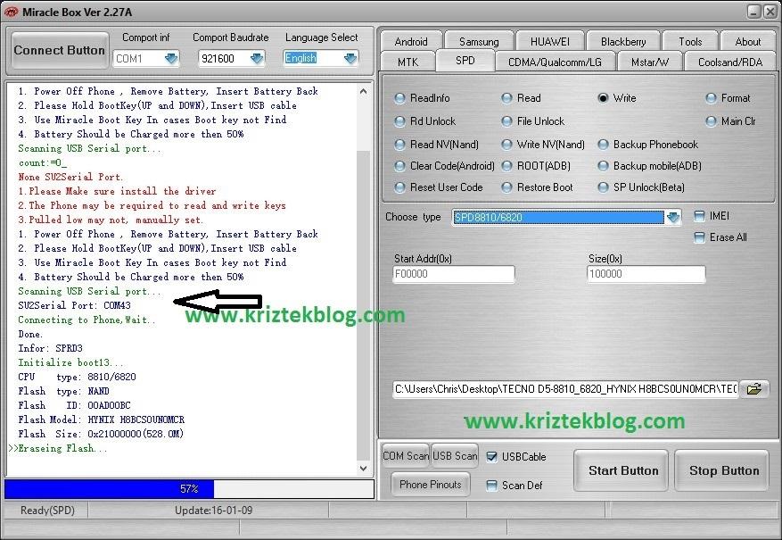 Flash .bin files to spreadtrum devices
