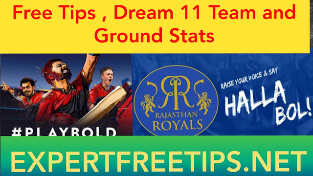 RR vs RCB Dream11 Predictions & Betting Tips, IPL 2018 Today Match Predictions