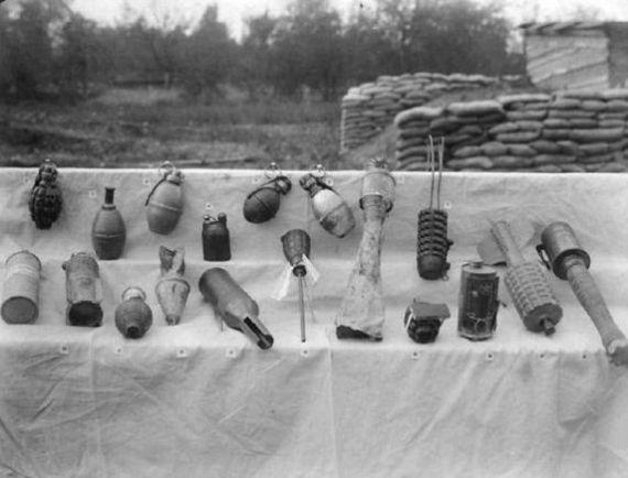 jenis-jenis granat peang dunia 1