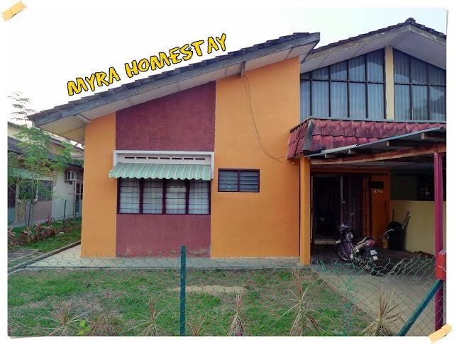 Homestay di Jasin, Melaka