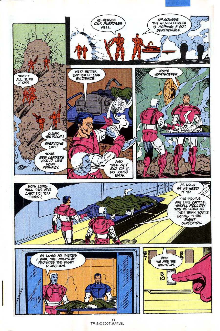Read online Silver Surfer (1987) comic -  Issue #53 - 29
