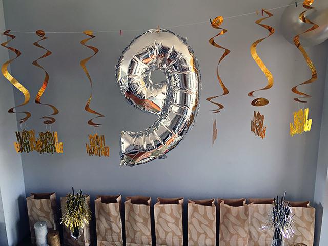 gouden zilveren feestdecoraties