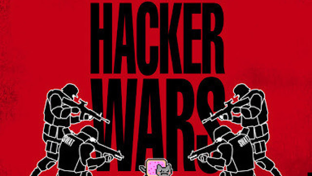 hackers wars anonymous reportage
