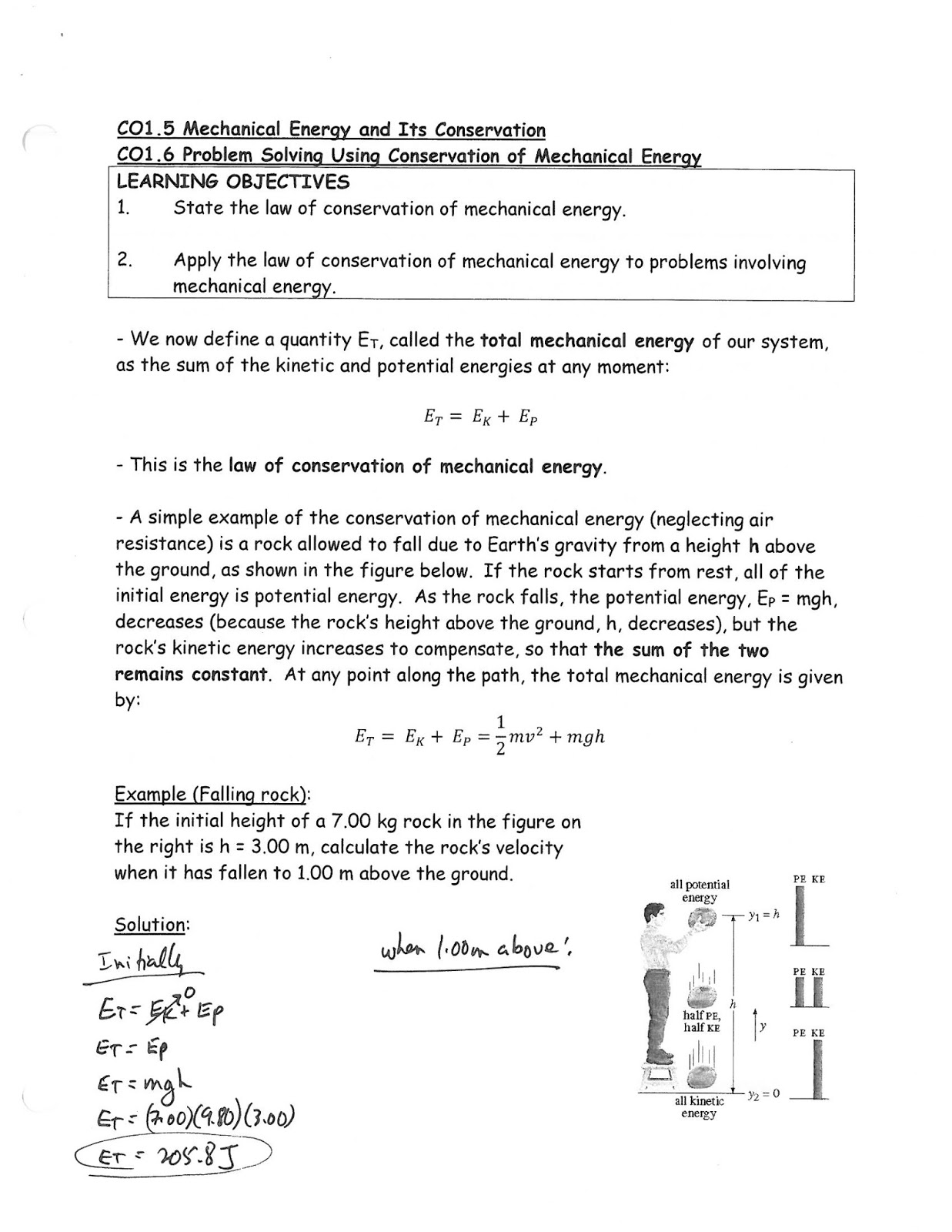 Mr Kaspricks Physics 30 Class Co1 Investigate The Nature Of
