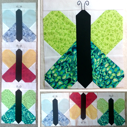 Butterfly Block with Tutorial