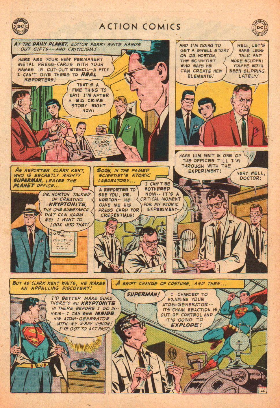 Read online Action Comics (1938) comic -  Issue #239 - 4