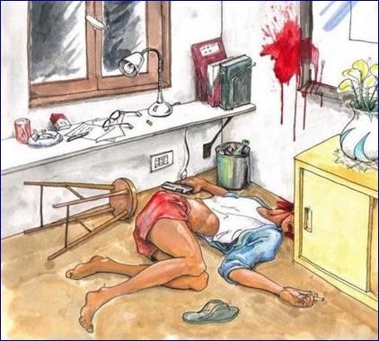Murder Or Suicide Puzzle