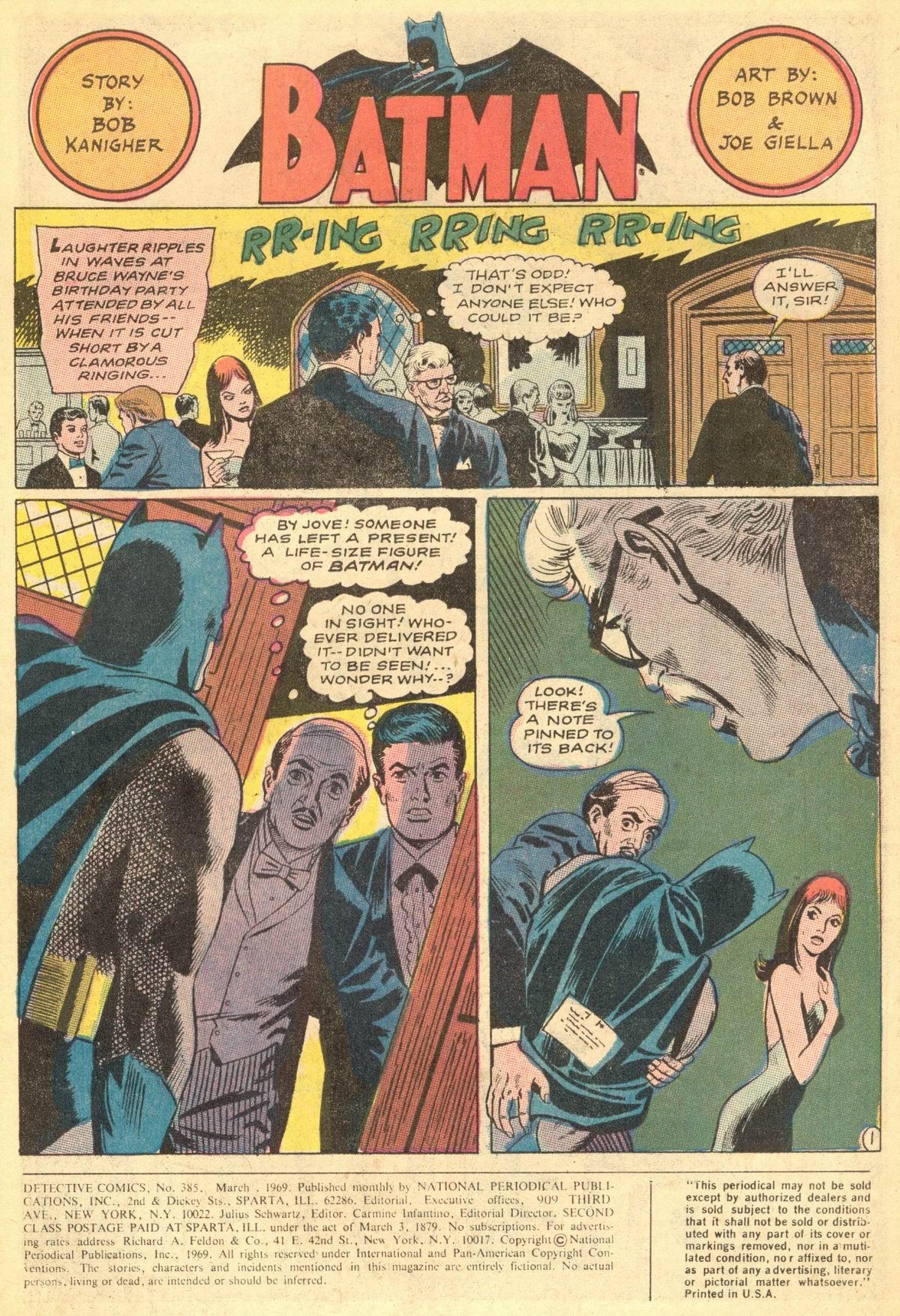 Detective Comics (1937) 385 Page 2