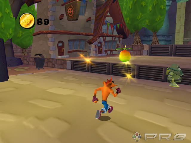 Crash Tag Team Racing PS2 GAME ISO Screenshot 1