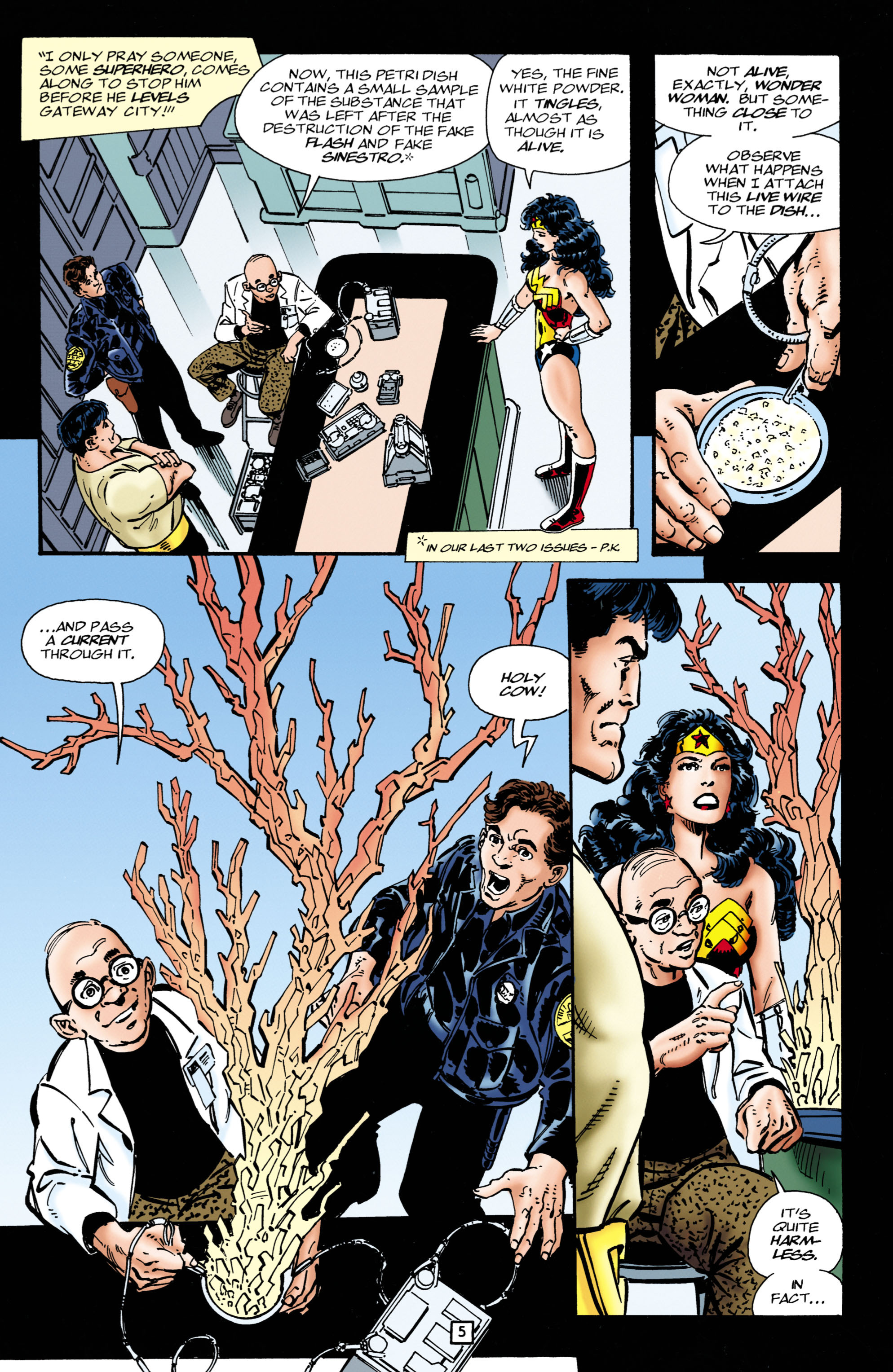 Read online Wonder Woman (1987) comic -  Issue #111 - 5