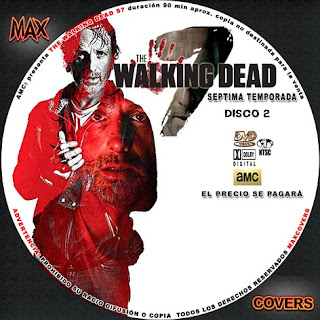 The Walking Dead S7 D2 Maxcovers