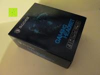 Verpackung vorne: SADES SA922 Professionelle Surround Sound Stereo PC Gaming Headset Kopfhörer mit Mikrofon für XBOX / PS3 / PC / Handy / iPhone / iPad / Musik