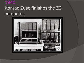 KONRAD ZUSE FINISHES THE Z3 COMPUTER