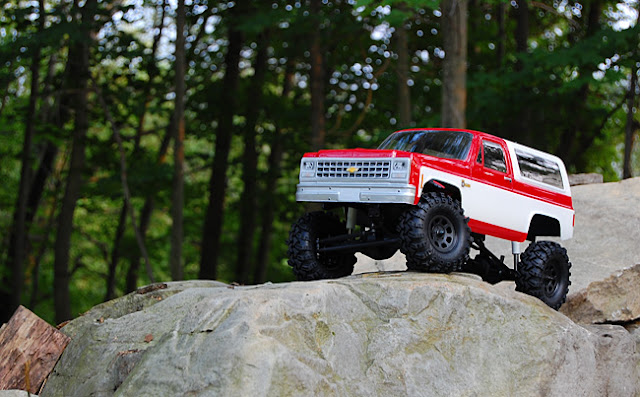 "Axial AX10 X-Trail 1.9"" tire conversion"
