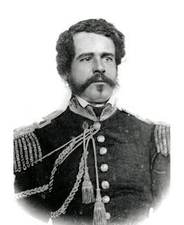 Captain Antonio Maria de la Guerra Company C, First Battalion, Native California Cavalry Courtesy www.findagrave.com