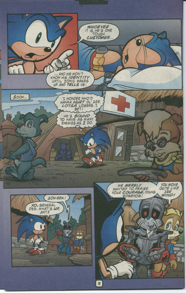 Read online Sonic The Hedgehog comic -  Issue #112 - 8