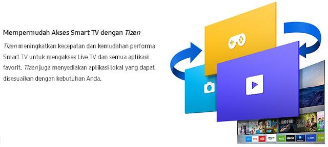 Mempermudah Akses Smart TV dengan Tizen