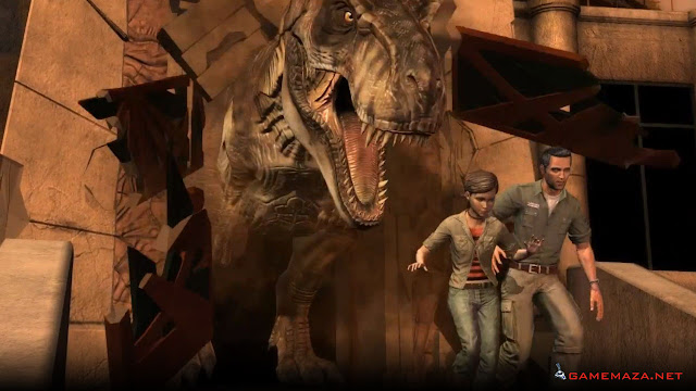Jurassic Park The Game Gameplay Screenshot 4