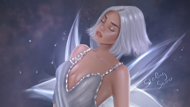 Diamond - Birthstone Series - Digital Painting Art