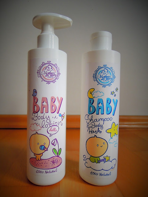 Kosmetika Hristina cosmetics recenzeKosmetika Hristina cosmetics Mother & Baby Body lotion Baby Shampoo & Body wash recenze