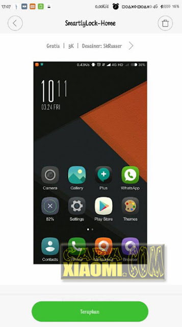 Download Lockscreen Smartly Lock Home For MIUI