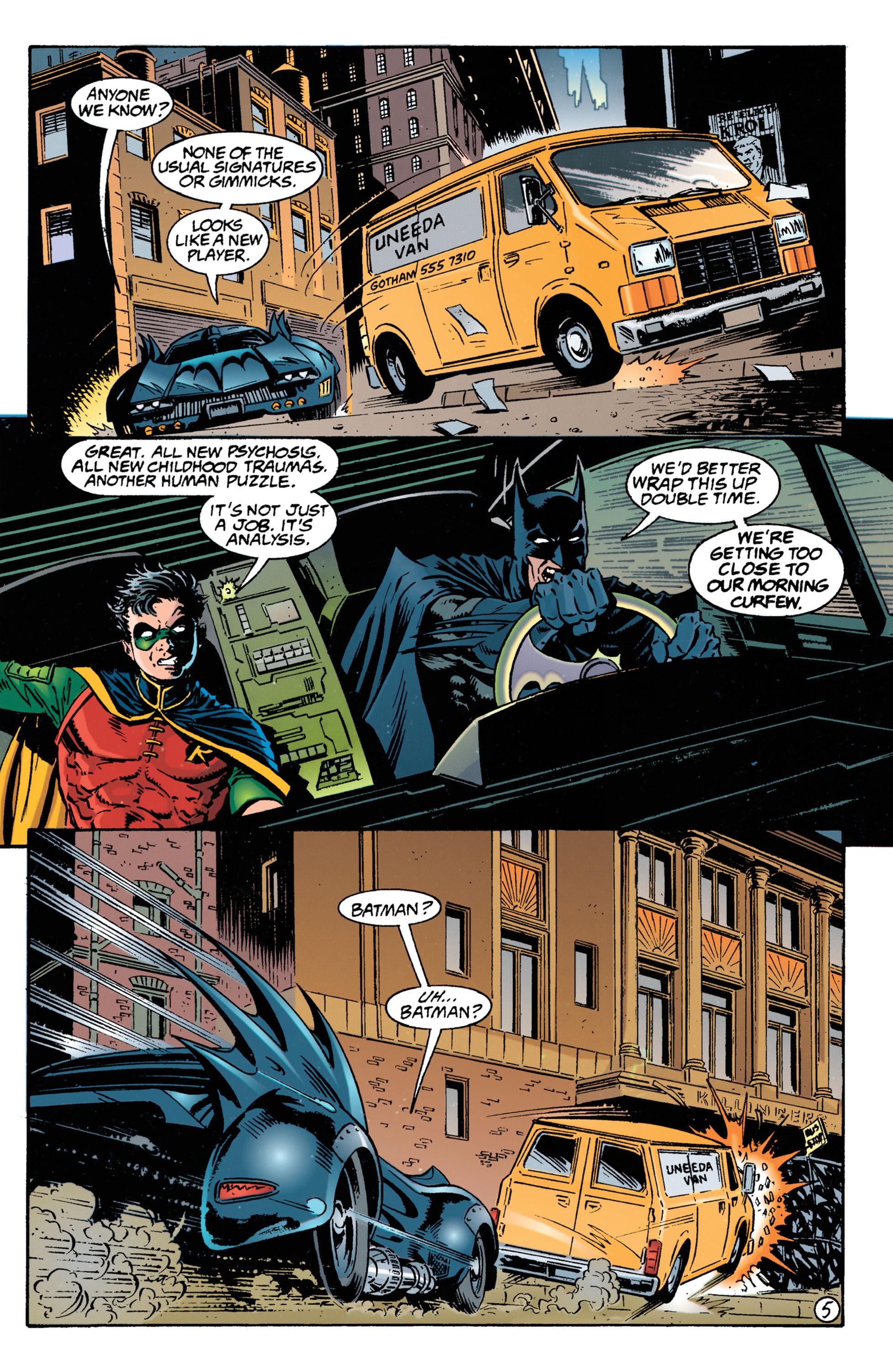 Detective Comics (1937) 693 Page 5