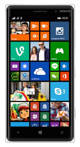 Lumia 830 with superior PureView imaging