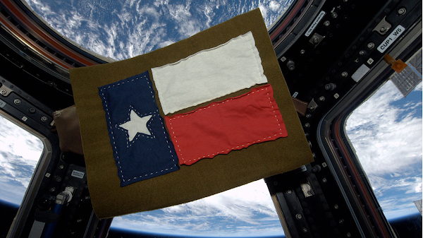Howdy From Orbit! Fulfilling Your Civic Duty