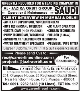 Al Jazira Orbit Group Saudi Arabia Jobs
