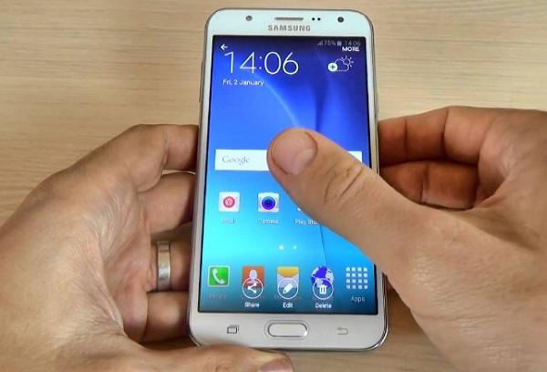 Cara Mudah Screenshot Samsung J7