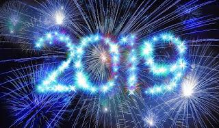 Życzenia noworoczne i nowe wyzwanie czytelnicze na 2019 rok!!
