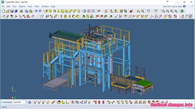Download VariCAD 2019 v1.01 Full Cr@ck - Phần mềm vẽ đồ họa 2D 3D