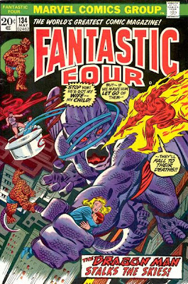Fantastic Four #134, Dragon Man