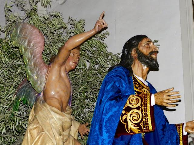 Resultado de imagen de PASO  DE JESÚS EN EL HUERTO DE LOS OLIVOS